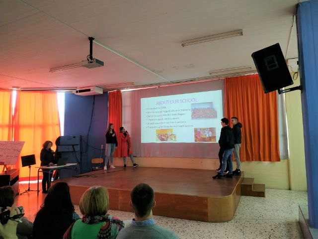 students present their countries and schools (2)